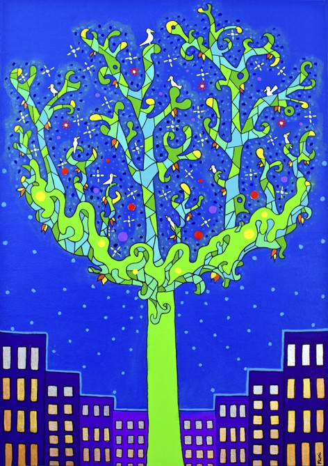 Lupuna Blanca Tree Medicine - Greeting Card